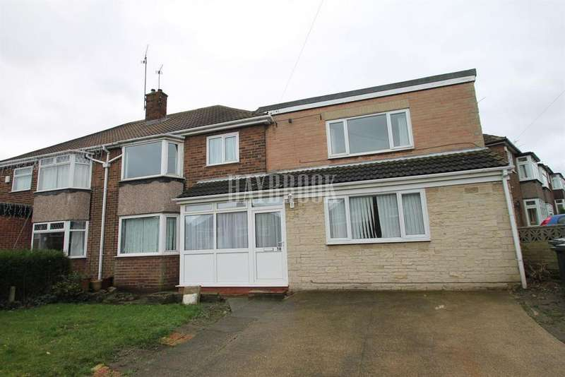 5 Bedrooms Semi Detached House for sale in Manor Crescent, Brinsworth