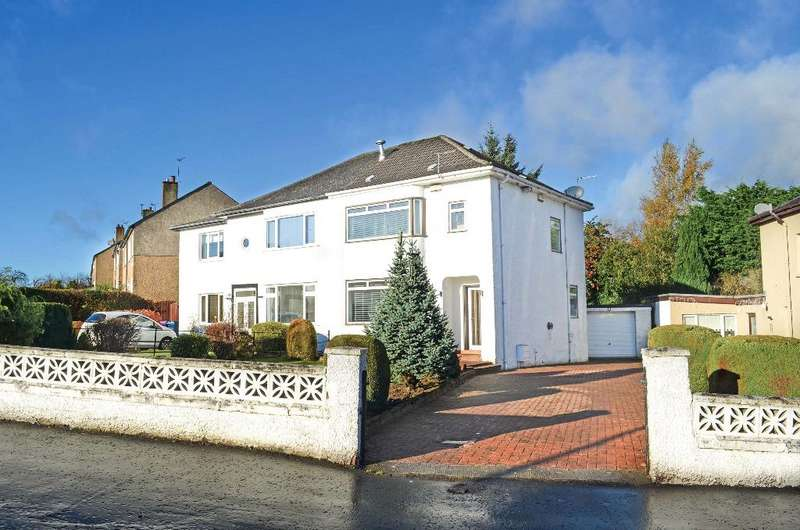3 Bedrooms Semi Detached House for sale in Largie Road, Newlands, Glasgow, G43 2RD