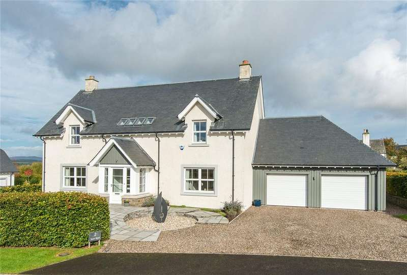 4 Bedrooms Detached House for sale in Tower Wynd, Clathymore, By Perth