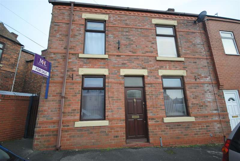 3 Bedrooms End Of Terrace House for sale in Gordon Street, Wigan