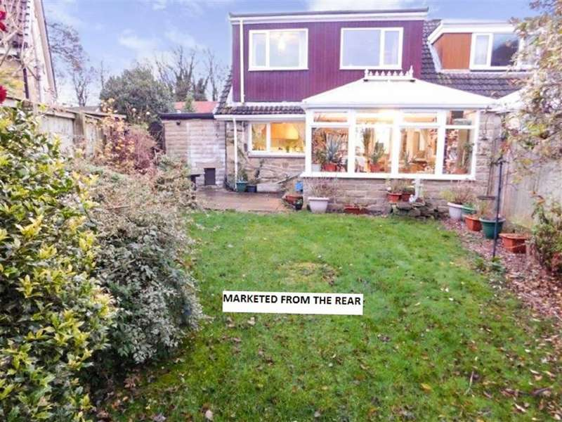 4 Bedrooms Semi Detached House for sale in Bankfield Park Avenue, Taylor Hill, Huddersfield