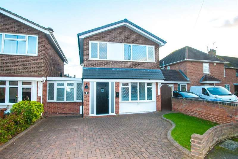 3 Bedrooms Link Detached House for sale in Jordan Close, Fradley, Nr Lichfield