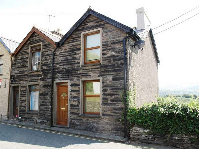 3 Bedrooms End Of Terrace House for rent in Fron Heulog, Penrhyndeudraeth