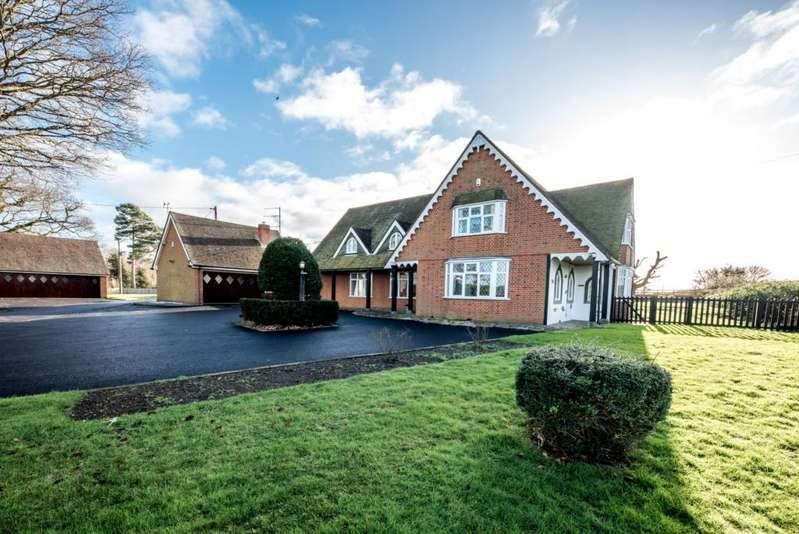 5 Bedrooms Detached House for rent in Tingrith Road, Tingrith, MK17