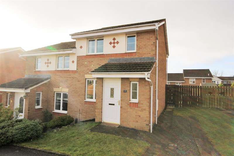 2 Bedrooms Semi Detached House for sale in Cedar Walk, Motherwell
