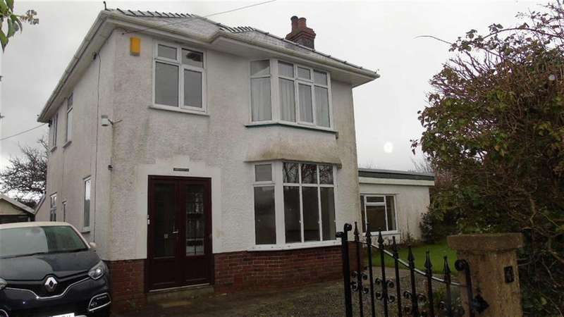 3 Bedrooms Detached House for sale in Pwlldu Lane, Swansea, SA3