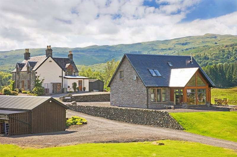 4 Bedrooms Detached House for sale in Collaig House and Collaig Byre, Kilchrenan, Taynuilt, Argyll and Bute, PA35