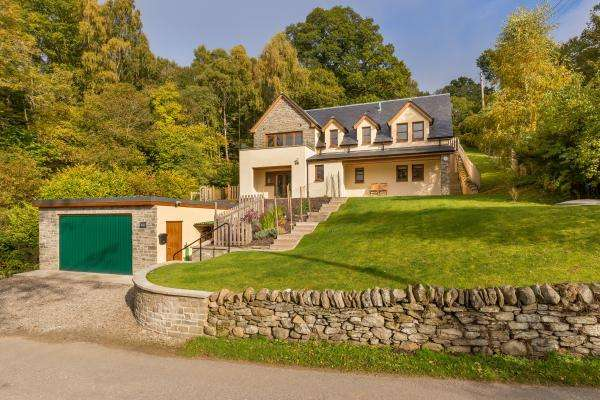 4 Bedrooms Detached House for sale in Tumallt House, Pitlochry, Perthshire, PH16