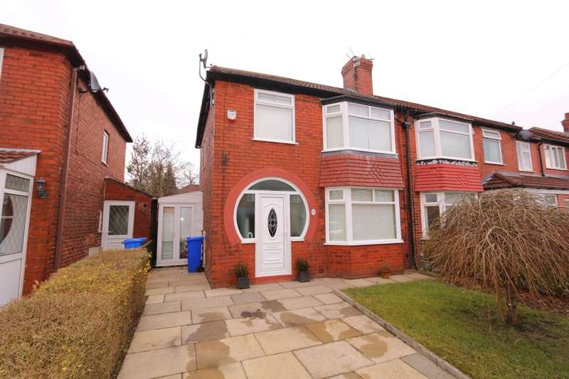 3 Bedrooms Semi Detached House for sale in Melton Avenue, Denton, Manchester, M34