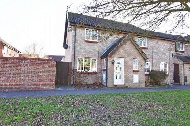 2 Bedrooms Semi Detached House for sale in Cornflower Close, Stanway, Colchester, Essex