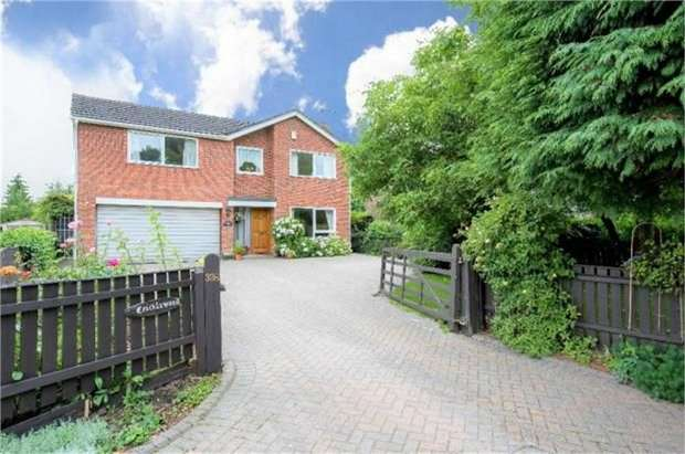 4 Bedrooms Detached House for sale in Willington Road, Kirton End, Boston, Lincolnshire