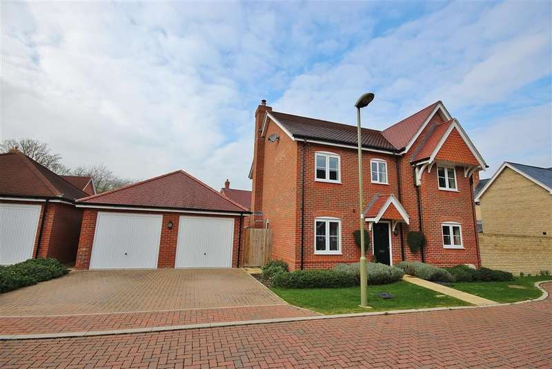 4 Bedrooms Detached House for sale in Claypit Lane, East Challow, Wantage, OX12