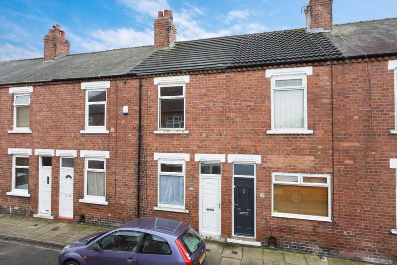 2 Bedrooms Terraced House for sale in Brunswick Street, South Bank, York