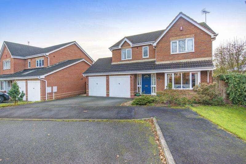4 Bedrooms Detached House for sale in KESTREL CLOSE, MICKLEOVER