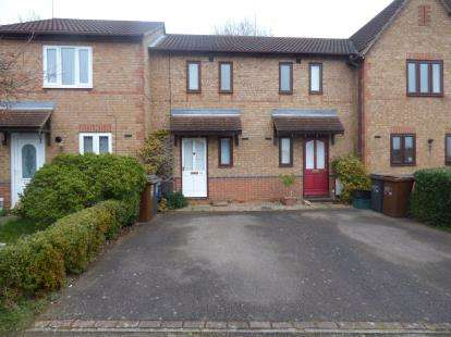 1 Bedroom Terraced House for sale in Lindisfarne Way, East Hunsbury, Northampton, Northamptonshire