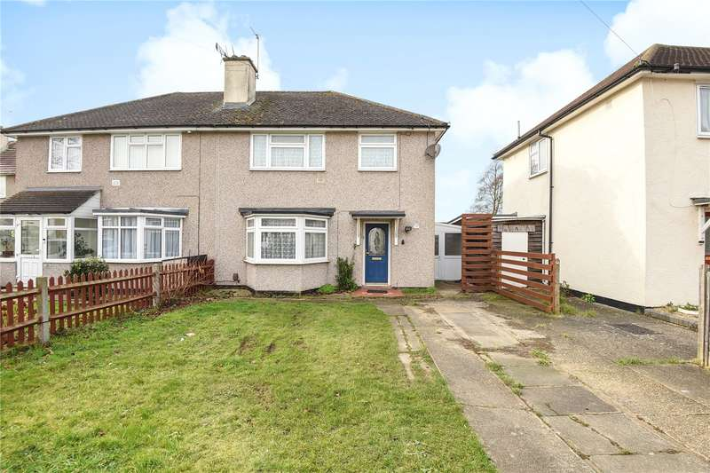 3 Bedrooms Semi Detached House for sale in Skipton Drive, Hayes, Middlesex, UB3