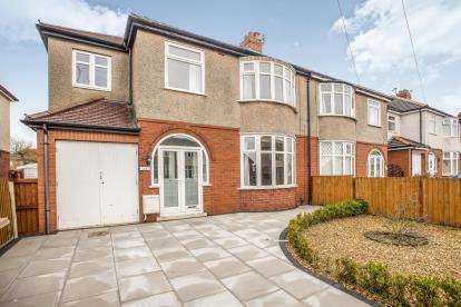 4 Bedrooms Semi Detached House for sale in Clifton Avenue, Preston, Lancashire, ., PR2