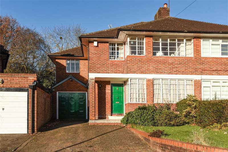 5 Bedrooms Semi Detached House for sale in Sunnyfield, Mill Hill