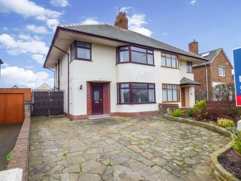 3 Bedrooms Semi Detached House for sale in Devonshire Road, Bispham, Blackpool