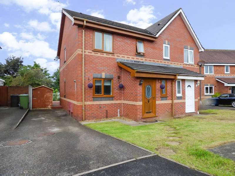 3 Bedrooms Semi Detached House for sale in Elkfield Drive, Highfurlong, Blackpool
