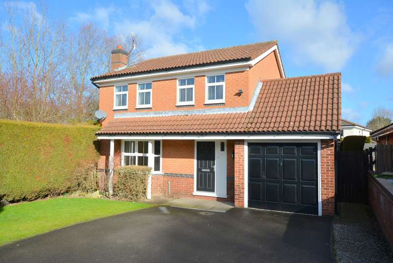 4 Bedrooms Detached House for sale in Healaugh Way, Chesterfield, S40 2UU