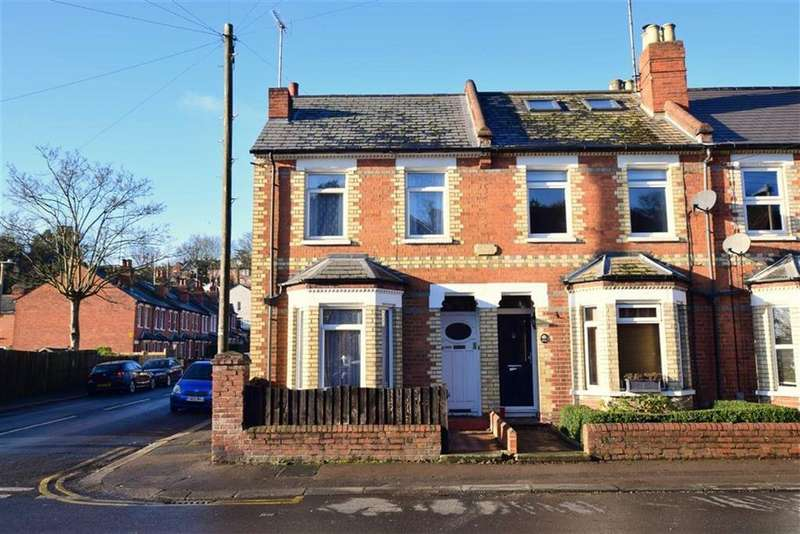 3 Bedrooms End Of Terrace House for sale in Hemdean Road, Caversham, Reading