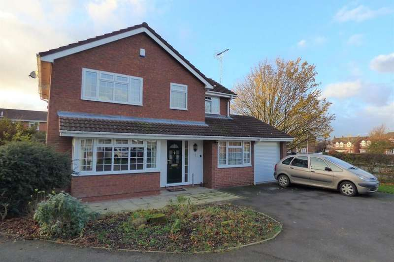 4 Bedrooms Detached House for sale in Mallard Close, Uttoxeter