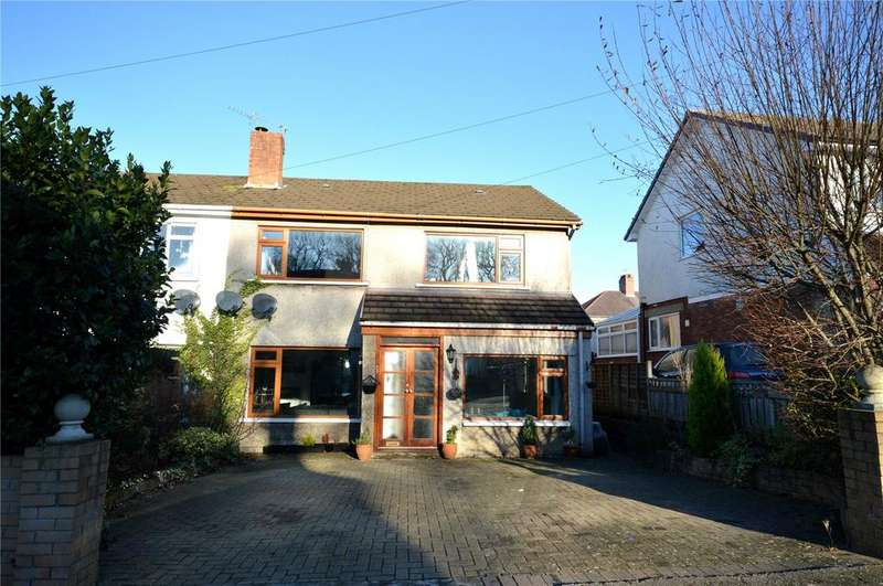 3 Bedrooms Semi Detached House for sale in Nant Fawr Crescent, Cyncoed, Cardiff, CF23