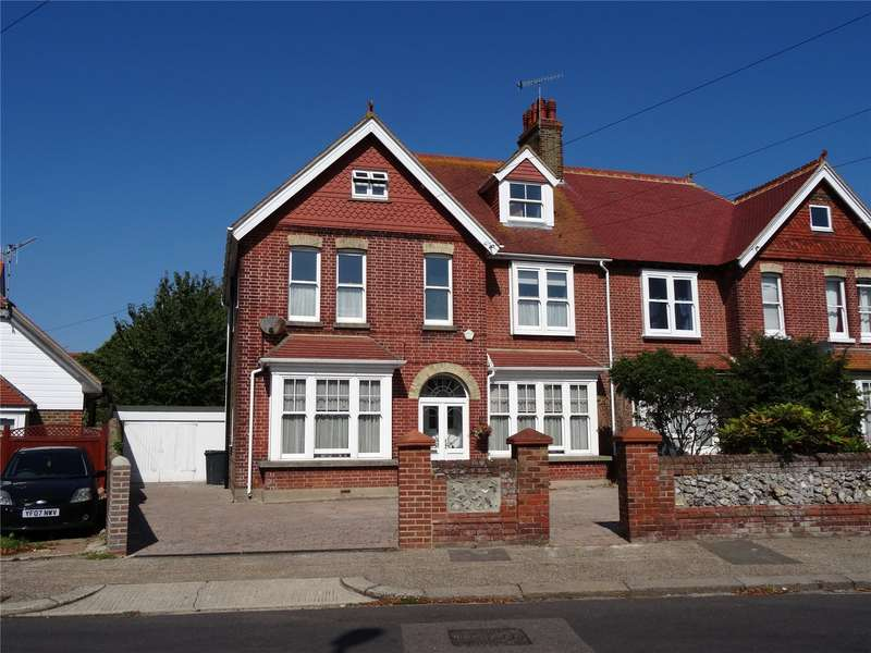 4 Bedrooms Semi Detached House for sale in Cissbury Road, Broadwater, Worthing, BN14