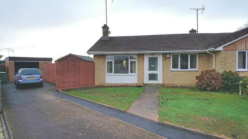 2 Bedrooms Semi Detached Bungalow for sale in Bridgewater Crescent, Brackley