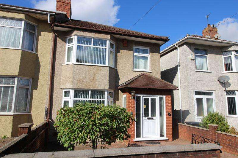 3 Bedrooms End Of Terrace House for rent in Ilchester Crescent, Bedminster Down, Bristol