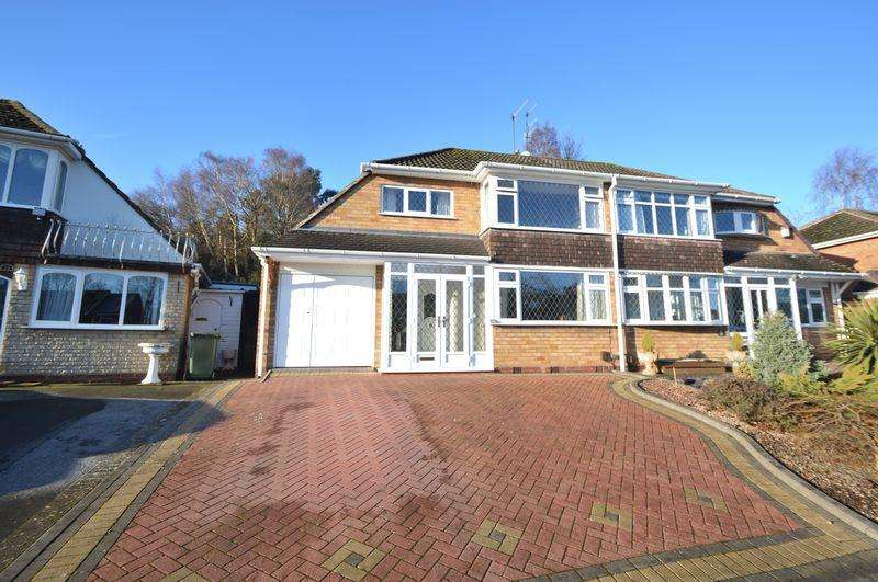3 Bedrooms Semi Detached House for sale in Richmond Grove, Wollaston, Stourbridge