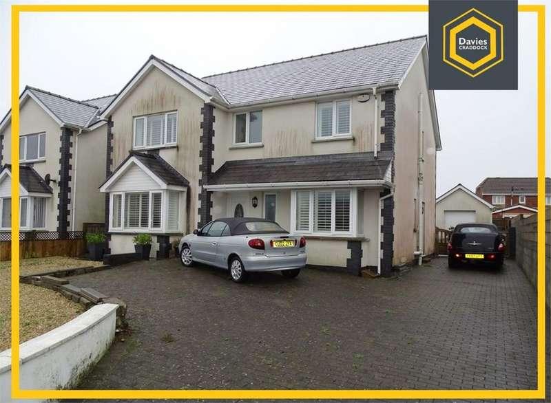 4 Bedrooms Detached House for sale in 43 Penllwynrhodyn Road, Llanelli, SA14