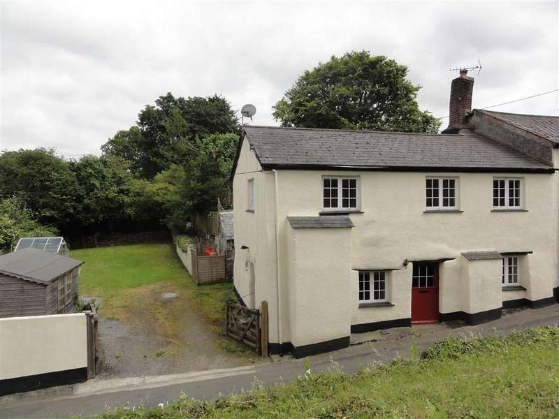 3 Bedrooms Semi Detached House for sale in Netherton Hill, Drewsteignton, Exeter, Devon, EX6