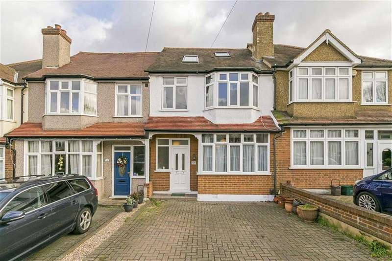 4 Bedrooms Terraced House for sale in Bridgewood Road, Worcester Park, Surrey