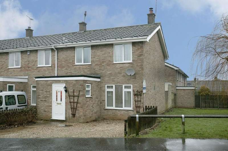 3 Bedrooms End Of Terrace House for sale in Gilpins Ride, Dereham