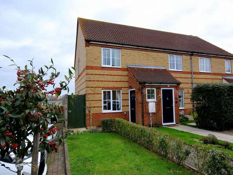 2 Bedrooms End Of Terrace House for sale in Chauntry Way, Flitwick, MK45