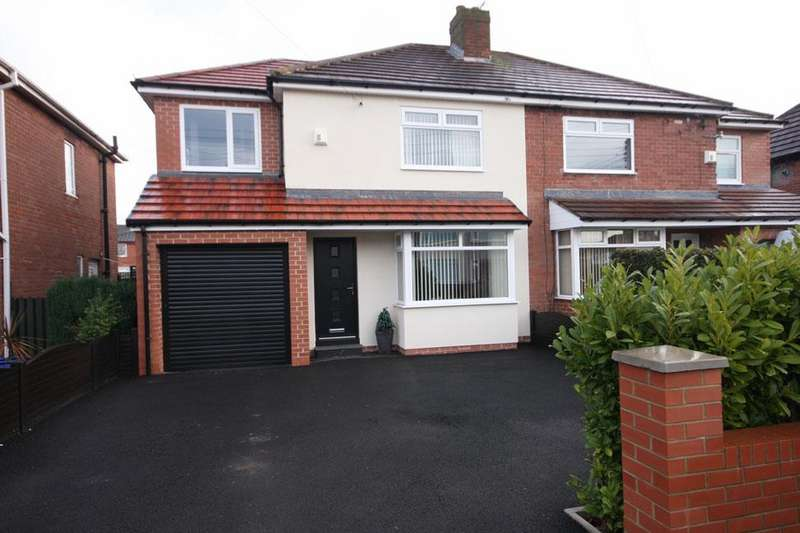 4 Bedrooms Semi Detached House for sale in Atkinson Road, Chester-le-Street DH3 3RU