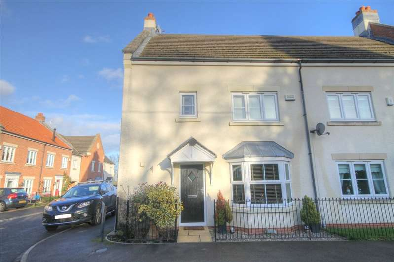 4 Bedrooms Semi Detached House for sale in Lawsons Court, High Coniscliffe, Darlington, DL2