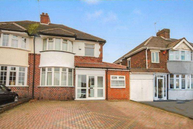 3 Bedrooms Semi Detached House for sale in Wolverhampton Road, Oldbury