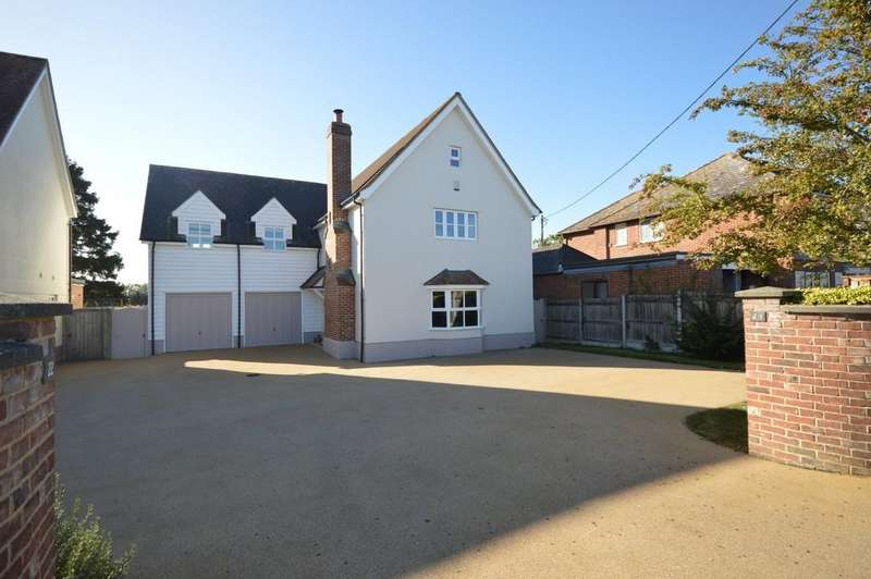 5 Bedrooms Detached House for sale in Malting Green Road, Layer-de-la-Haye