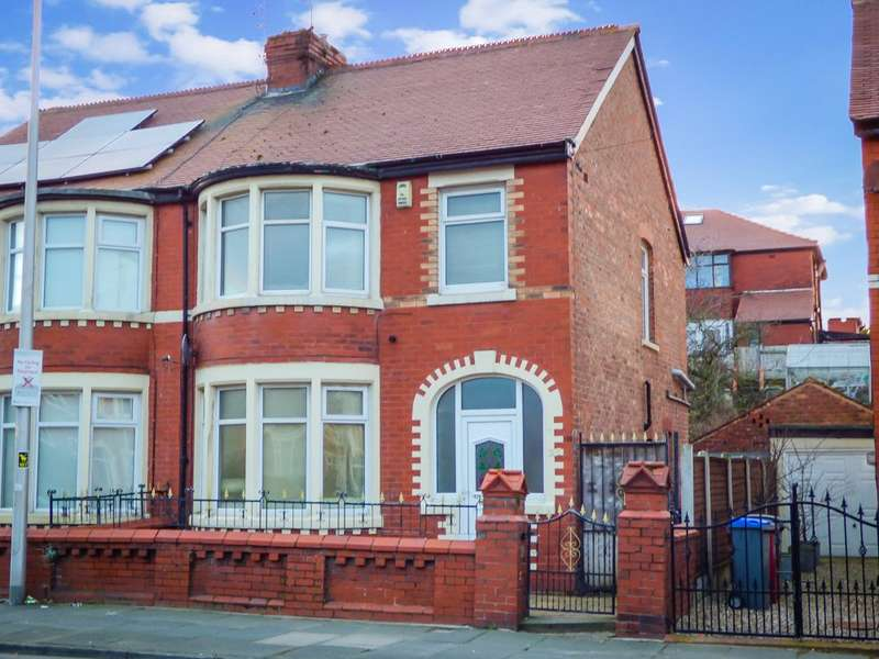 3 Bedrooms Semi Detached House for sale in Collingwood Avenue, Blackpool, Lancashire