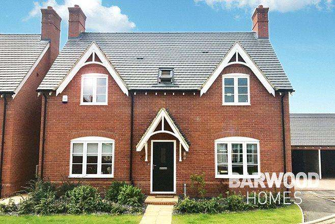 3 Bedrooms Detached House for sale in Millbrook Grange Development, Moulton, Northampton, NN3