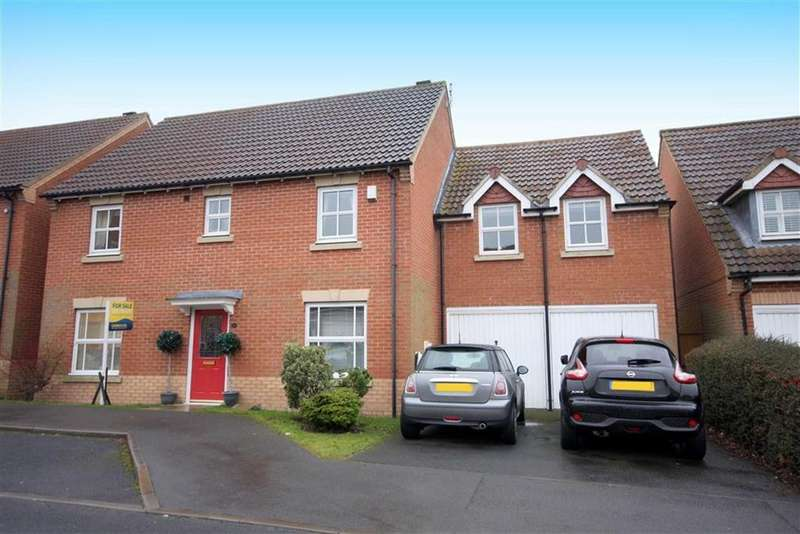 4 Bedrooms Detached House for sale in Fenwick Close, Northumberland Park, Tyne Wear, NE27