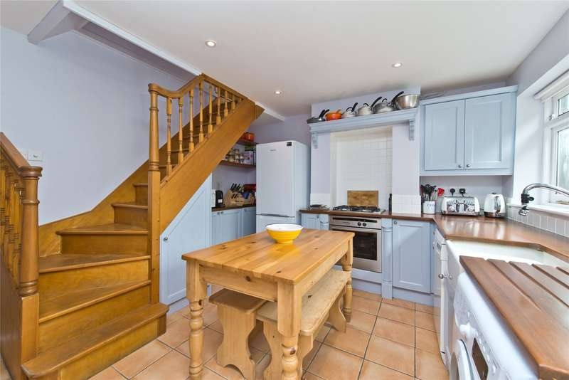 2 Bedrooms End Of Terrace House for sale in Corbiere Court, Wimbledon, London, SW19