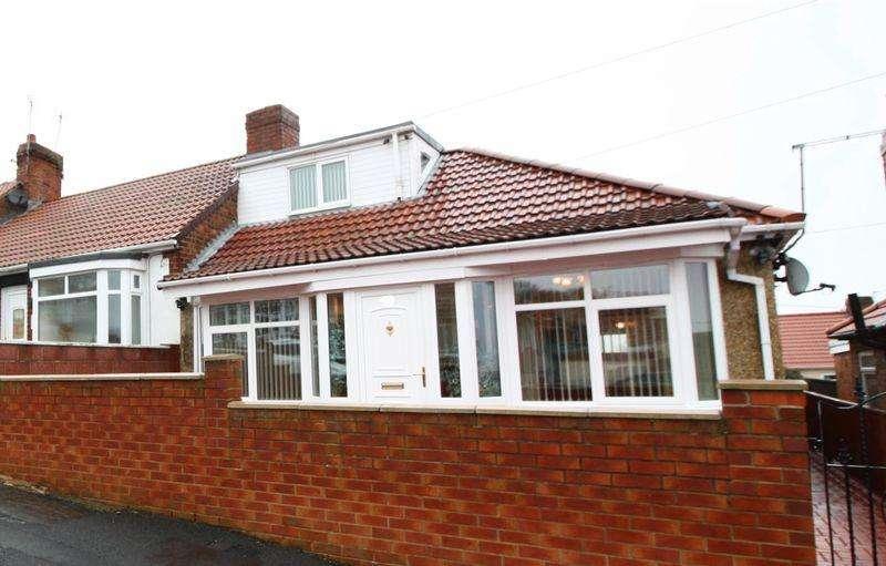 3 Bedrooms Detached Bungalow for sale in Three Bedroom Dormer Bungalow on Rosedale Terrace in Horden, Peterlee, SR8