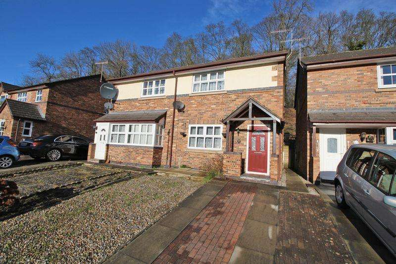 2 Bedrooms Semi Detached House for sale in Bishops Walk, Llangollen
