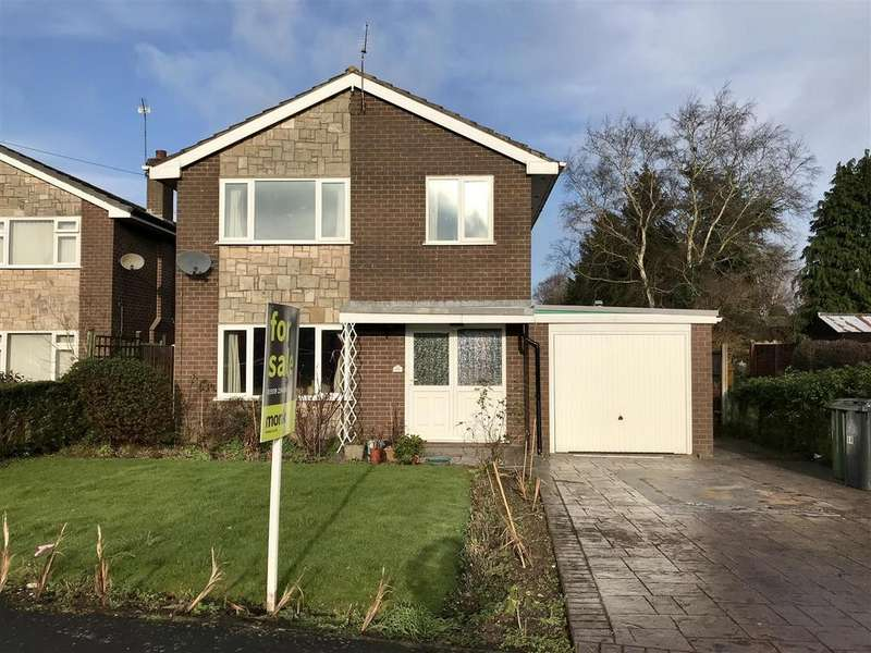 3 Bedrooms Detached House for sale in Pyms Road, Wem, Shrewsbury