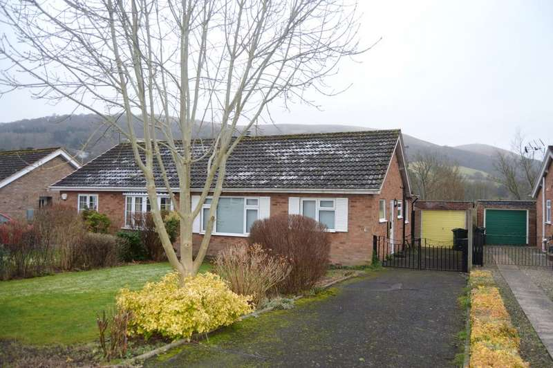 2 Bedrooms Semi Detached Bungalow for sale in 6 Stretton Farm Road, Church Stretton SY6