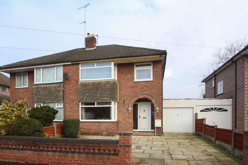 3 Bedrooms Semi Detached House for sale in River Lane, Partington, Manchester, M31